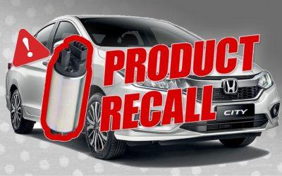 Masalah Fuel Pump, Honda Umumkan Recall