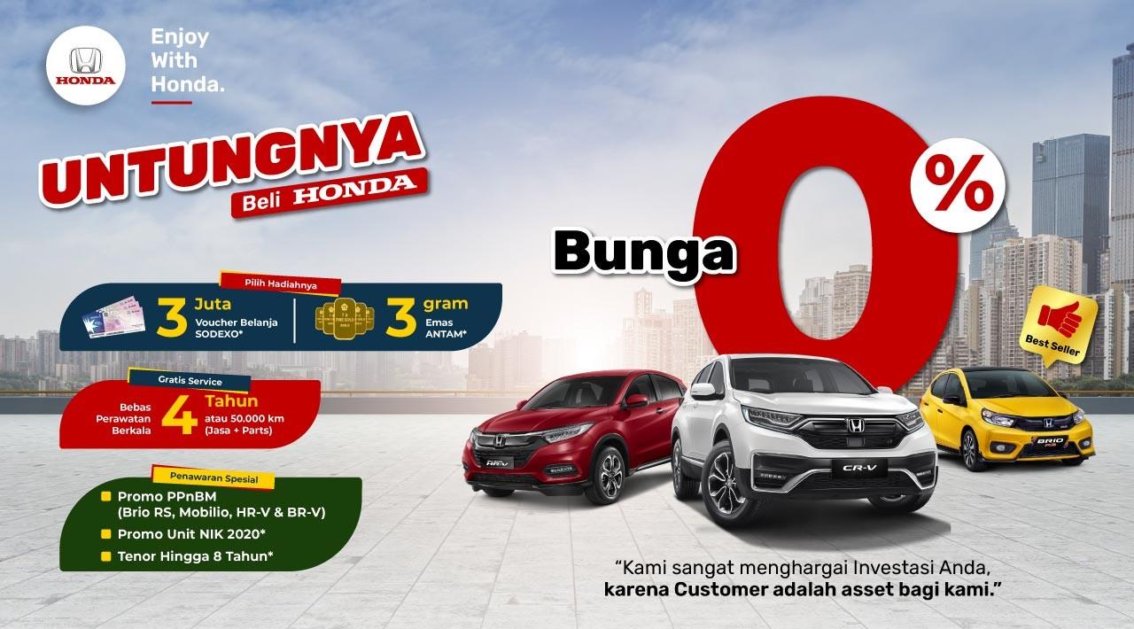 Promo Untungnya Beli Honda Probolinggo