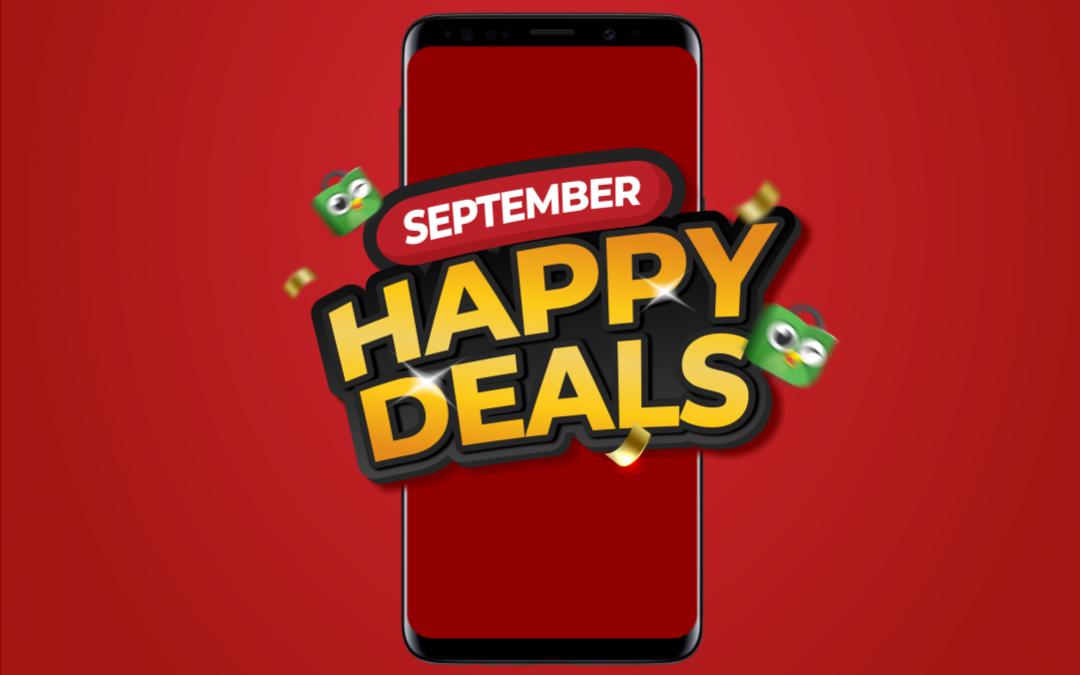 Promo September : Honda Happy Deals