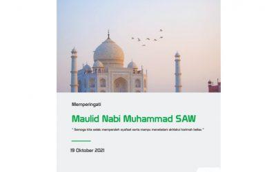 Hari Maulid Nabi Muhammad SAW 1443 H